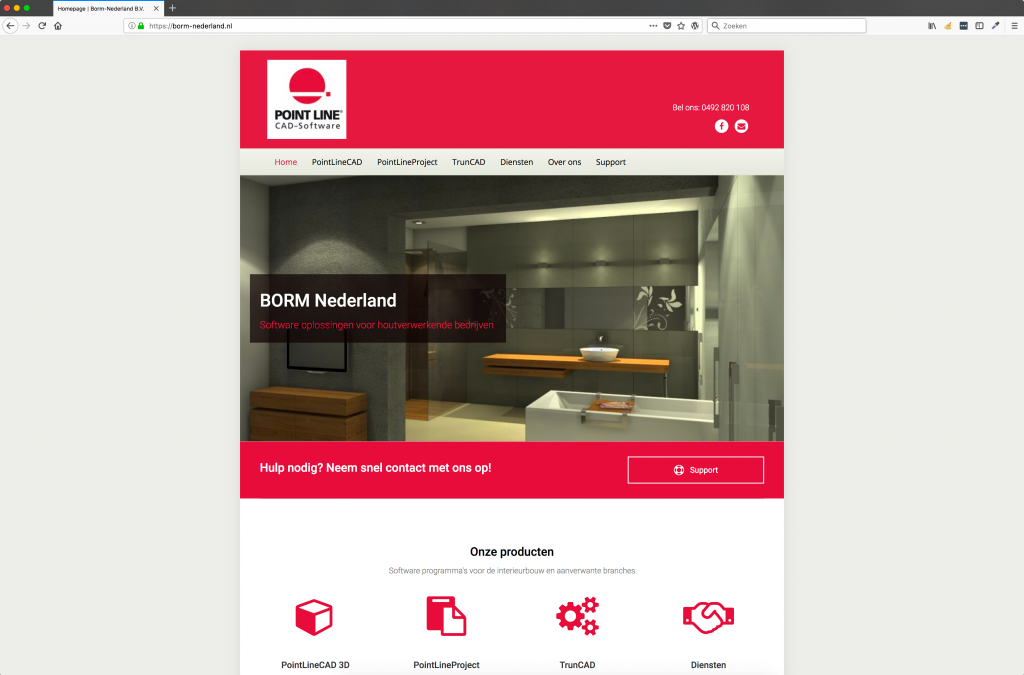 Borm-Nederland-Website